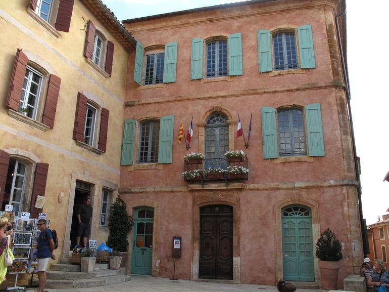 In the center of Rousillon, my fantasy house.