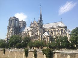 Notre Dame from the Seine. , Adam C - July 2015