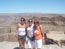 Photo of Las Vegas Grand Canyon West Rim Day Trip by Coach, Helicopter and Boat with Optional Skywalk On the edge