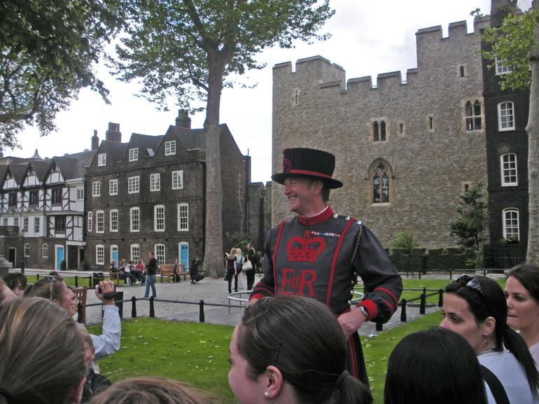 The Beefeater's mix of humor and history even enthralled my 15 year old granddaughtger. I wish I could have had this experience when I was her age for what a help it will be when she gets into her World history classes in a couple of years.