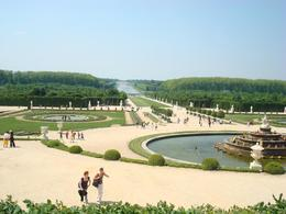 The grounds of Versailles., Aileen V - June 2008