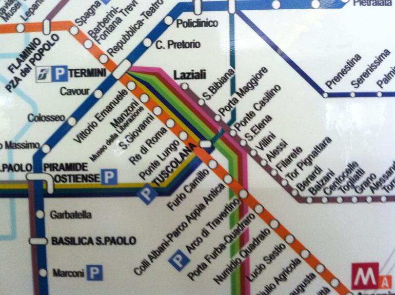 Rome subway system - Rome