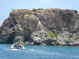 Creole Rock (the snorkeling destination) , Justin Y - August 2012