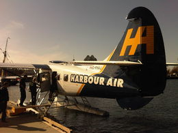 Disembarking our seaplane , david w - May 2015