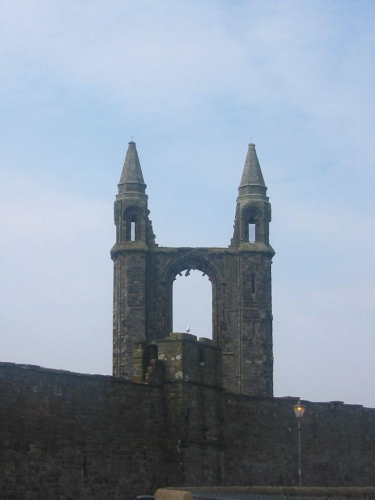 St. Andrews Cathedral ruins - Edinburgh