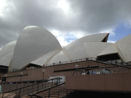 Simply a photo of the Opera House sails taken during a break in the rain; just as the sun attempted to break through - unsuccessfully I may add. , Barbara H - November 2014