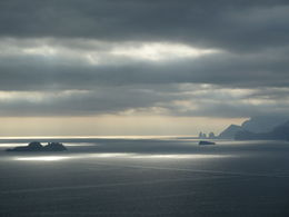 Li Galli, the islands of the mythical Sirens, on the left, and in the distance the Faraglioni of Capri , julie.mullins1 - November 2015