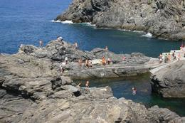 Photo of Florence Cinque Terre Small Group Day Trip from Florence Swimmers enjoying the day