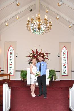 A special memory wedding chapel - May 2010