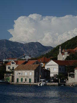 Ferry ride view in Montenegro. , Vicki M - November 2012