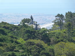 Photo of Lisbon Sintra and Cascais Small-Group Day Trip from Lisbon a lonely warrior