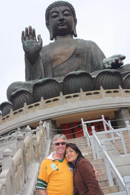 Photo of Hong Kong Lantau Island and Giant Buddha Day Trip from Hong Kong big buddha was my witness