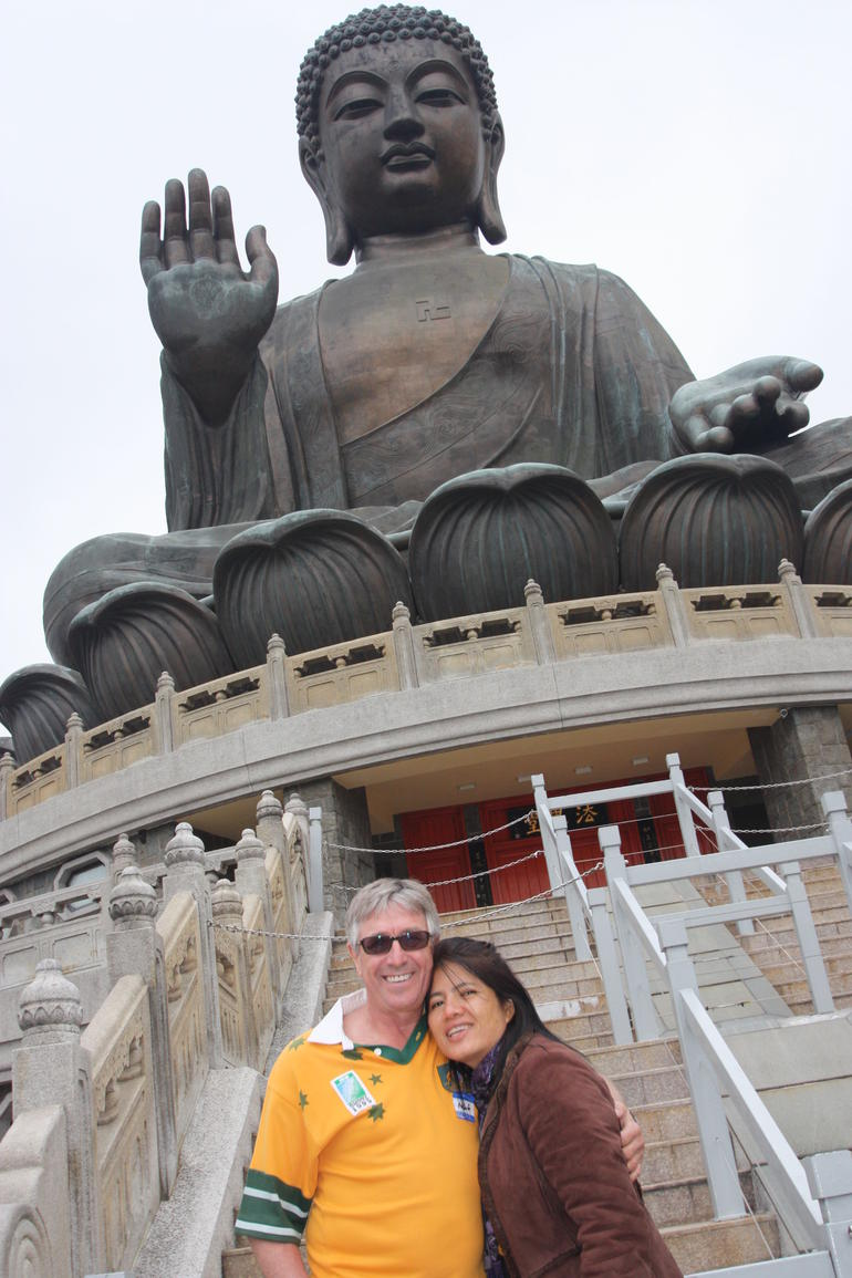 big buddha was my witness - Hong Kong