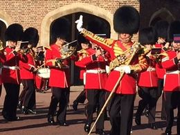 Changing of the Guard and Band- can't get closer than this! , Delia K - October 2015