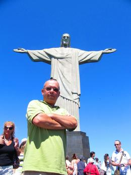 Photo of Rio de Janeiro Corcovado Mountain, Christ Redeemer and Sugar Loaf Mountain Day Tour Christ The Redeemer