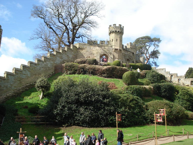 At Warwick castle