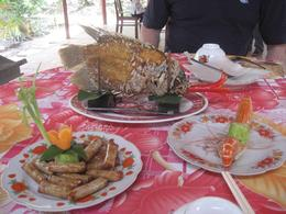 Photo of Ho Chi Minh City Private Tour: Mekong River Cruise Tour from Ho Chi Minh City Elephant Ear Fish