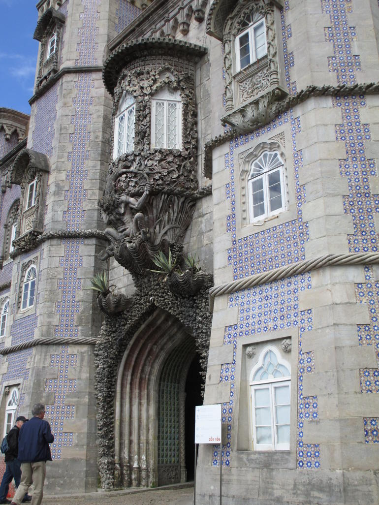 Entrance to the Palace of Pena - Lisbon