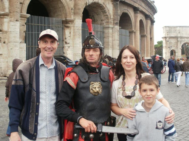 Family with the Gladiators - Rome