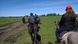 Enjoyed riding the horses on ranch and watching the gauchos perform on their horses , Gerald and Mary - October 2014