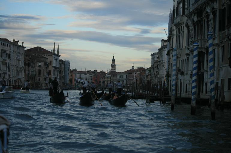 Group Gondola and Seranade - Venice