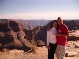 Photo of Las Vegas Grand Canyon West Rim Combo: Luxury SUV, Helicopter and Boat Gustavo and Lucia in the Grand Canyon