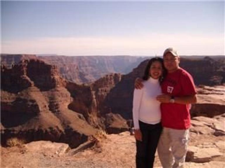 Gustavo and Lucia in the Grand Canyon - Las Vegas
