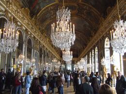 Hall of Mirrors in Palace of Versailles , Michael B - November 2011