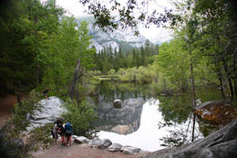 The picturesque Mirror Lake, in Yosemite National Park. Taken at dusk, May 2010. , Peter Whitten - March 2011