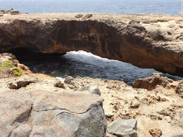 There was a larger natural bridge which collapsed next to the Baby bridge. Great views of the coastline. , Kenneth B - September 2015