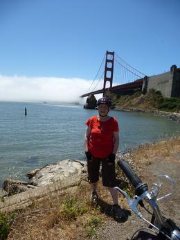 Photo of San Francisco San Francisco Golden Gate Bridge Bike Tour On the Sausalito side of the bridge.
