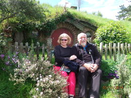 Susan and I visit Hobbiton for a fantastic day out. , Robert M - December 2014