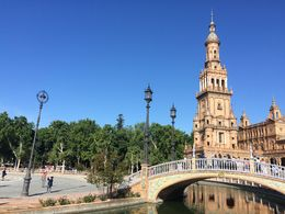 Plaza de Espana - Seville , Chandan M - June 2016
