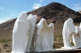 Rhyolite is the last major stop and a great ghost town - but it does get a little weird at the end! , Todd K - May 2011