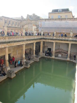 Photo of London England in One Day: Stonehenge, Bath, the Cotswolds and Stratford-upon-Avon Day Trip from London Roman Bath