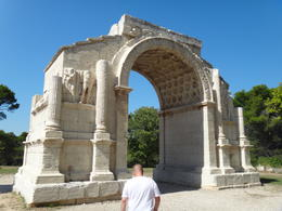 Roman ruins in Provence , Mark J R - September 2013