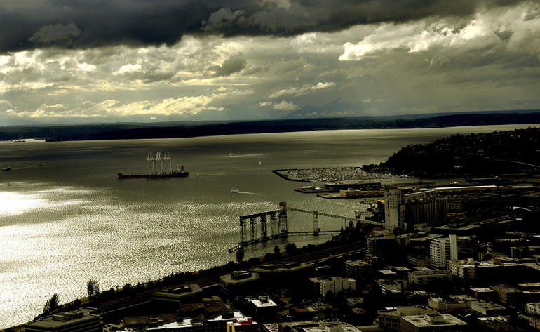 Space needle view - Seattle