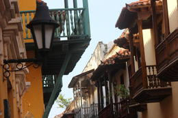 Another shot of the streets and houses in Cartagena., Bandit - September 2012