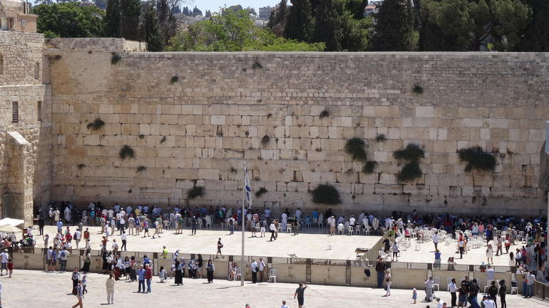The Western Wall (Wailing Wall) - Jerusalem