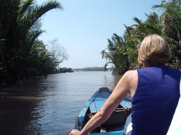 SUNNY DAY HOT AND WARM MEKONG DELTA , leslie j - February 2013