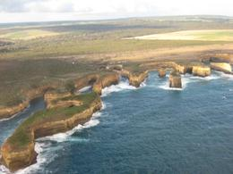 Photo of Melbourne Great Ocean Road Small-Group Eco-Tour from Melbourne view from helicopter