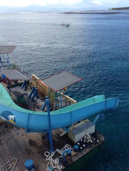 Photo of Bali Bali Reef Cruise and Lembongan Island Day Trip Water Slide