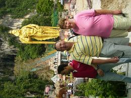 Photo of Kuala Lumpur Batu Caves and Temple Tour from Kuala Lumpur Anne & Gordon at Batu Caves entrance