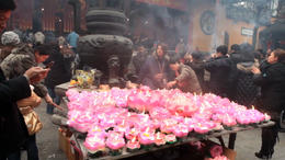 At the Jade Buddha Temple! - March 2012