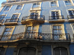 Photo of   Buildings around Baixa, Lisbon