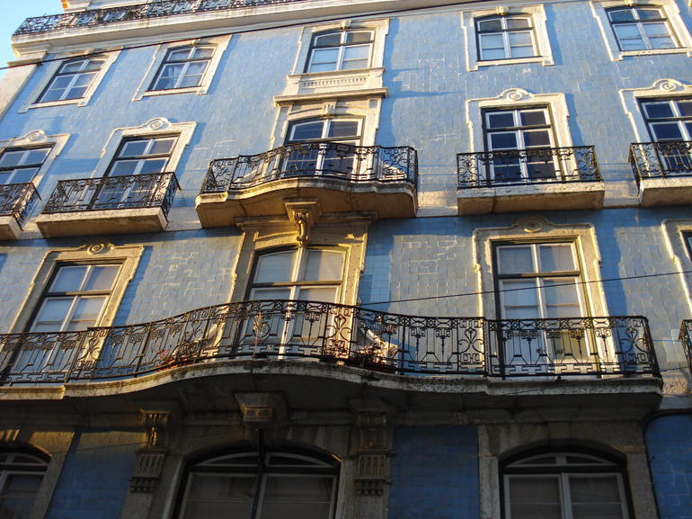 Buildings around Baixa, Lisbon - Lisbon