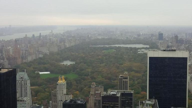 Centrral Park from Top of the Rock