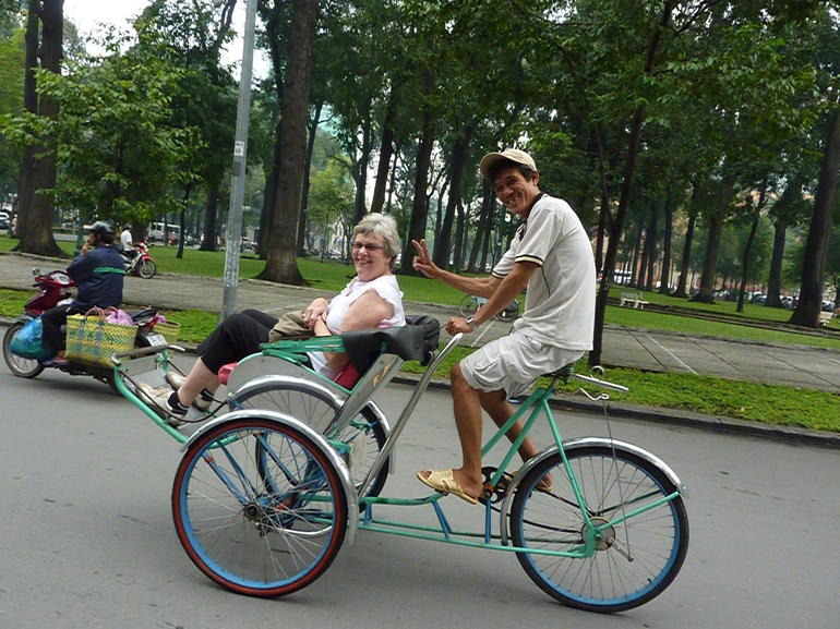 Cyclo Tour in HCMC -
