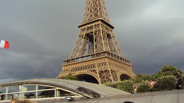 Our first stop in Paris , Lourdes G - July 2014