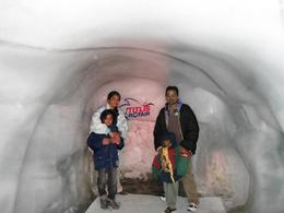 Me and my family inside the ice cave , T.R Sivaramakri R - June 2011